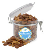 Deluxe Nut Medley Round Canister-Interlocking SU
