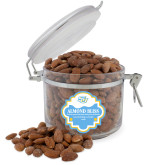 Almond Bliss Round Canister-Interlocking SU