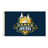 3 ft x 5 ft Flag-The Human Jukebox Official Mark