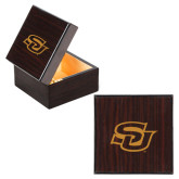 Wooden Jewelry Box-Interlocking SU Engraved