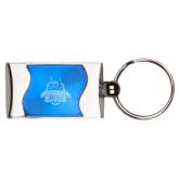Silverline Blue Wave Key Holder-The Human Jukebox Official Mark Engraved