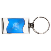 Silverline Blue Wave Key Holder-Fabulous Dancing Dolls Official Mark Engraved