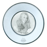 Silver Two Tone Big Round Photo Frame-The Human Jukebox Official Mark Engraved