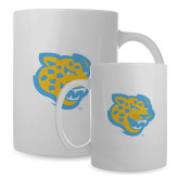 Full Color White Mug 15oz-Jaguar Head