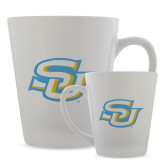 12oz Ceramic Latte Mug-Interlocking SU