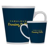 Full Color Latte Mug 12oz-Fabulous Dancing Dolls Wordmark