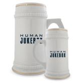 Full Color Decorative Ceramic Mug 22oz-Human Jukebox Wordmark