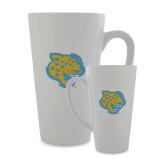 Full Color Latte Mug 17oz-Jaguar Head
