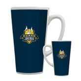 Full Color Latte Mug 17oz-The Human Jukebox Official Mark