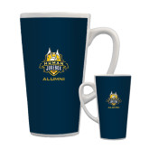 Full Color Latte Mug 17oz-The Human Jukebox - Alumni