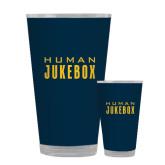 Full Color Glass 17oz-Human Jukebox Wordmark