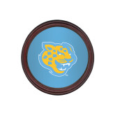 Round Coaster Frame w/Insert-Jaguar Head