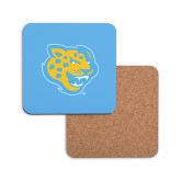 Hardboard Coaster w/Cork Backing-Jaguar Head