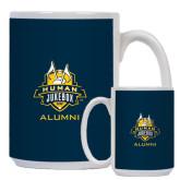 Alumni Full Color White Mug 15oz-The Human Jukebox - Alumni
