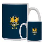Dad Full Color White Mug 15oz-Fabulous Dancing Dolls - Dad