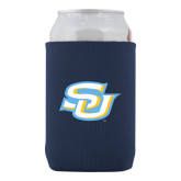 Collapsible Navy Can Holder-Interlocking SU