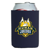 Collapsible Navy Can Holder-The Human Jukebox Official Mark