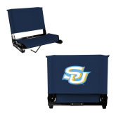 Stadium Chair Navy-Interlocking SU