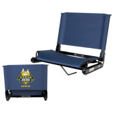 Stadium Chair Navy-The Human Jukebox - Mom