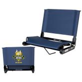 Stadium Chair Navy-The Human Jukebox - Mom