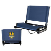 Stadium Chair Navy-Fabulous Dancing Dolls - Mom