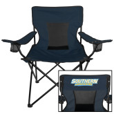 Deluxe Navy Captains Chair-Southern Jaguars