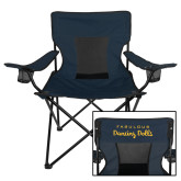 Deluxe Navy Captains Chair-Fabulous Dancing Dolls Wordmark