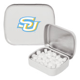 White Rectangular Peppermint Tin-Interlocking SU