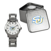 Mens Stainless Steel Fashion Watch-Interlocking SU