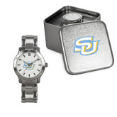 Ladies Stainless Steel Fashion Watch-Interlocking SU