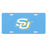 License Plate-Interlocking SU