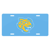License Plate-Jaguar Head