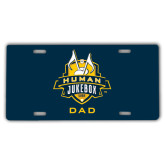 License Plate-The Human Jukebox - Dad