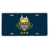 License Plate-The Human Jukebox - Dad