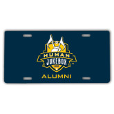 License Plate-The Human Jukebox - Alumni