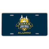 License Plate-The Human Jukebox - Alumni
