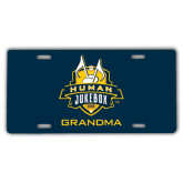 License Plate-The Human Jukebox - Grandma