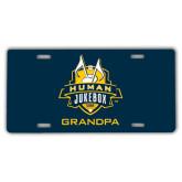 License Plate-The Human Jukebox - Grandpa