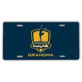 License Plate-Fabulous Dancing Dolls - Grandma