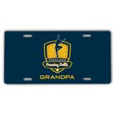 License Plate-Fabulous Dancing Dolls - Grandpa