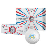 Callaway Supersoft Golf Balls 12/pkg-Interlocking SU