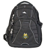 High Sierra Swerve Compu Backpack-The Human Jukebox Official Mark