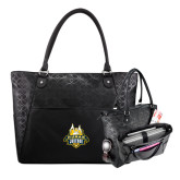 Sophia Checkpoint Friendly Black Compu Tote-The Human Jukebox Official Mark