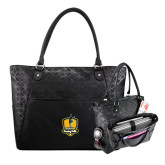 Sophia Checkpoint Friendly Black Compu Tote-Fabulous Dancing Dolls Official Mark