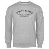 Grey Fleece Crew-Founded 1971