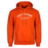 Orange Fleece Hoodie-Founded 1971