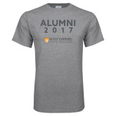 Grey T Shirt-Alumni Year, Personalized year