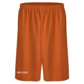 Performance Classic Orange 9 Inch Short-Primary Logo Flat