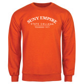 Orange Fleece Crew-Founded 1971