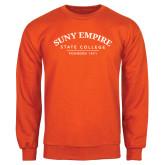 Orange Fleece Crew-Founded 1971